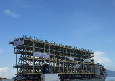 Petrobras FPSO-MV29 Oil Tanker